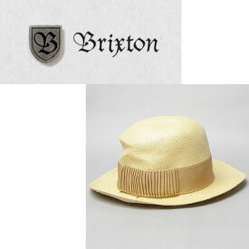BRIXTON ブリクストン The Pearl Straw Hat in Tan ストローハット タン  正規品取扱店舗 Hat Attack CHRISTY'S HAT ニューヨークハット