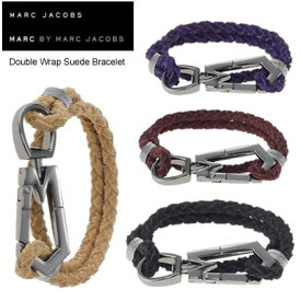 MARC BY MARCJACOBS マークバイマークジェイコブス Double Wrap Suede Bracelet レザーブレスレット  正規品取扱店舗