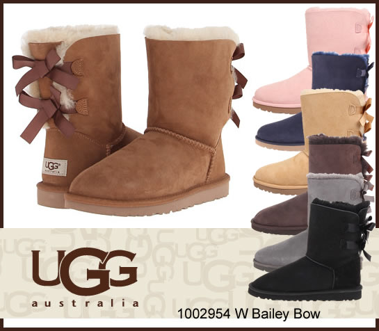 UGG Bailey Bow アグベイリー ボウ ブーツ シープスキンブーツ 1002954/正規品取扱店舗/ムートン so1