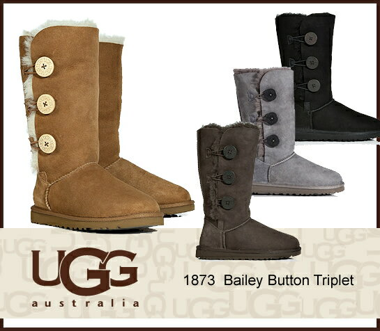 UGG Bailey Button Triplet アグ ベイリーボタン トリプレット 1873 /正規品取扱店舗/ so1