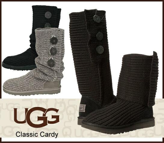 UGG アグ UGG Classic Cardy 5819 1016555 アグ クラシック カーディ ニットブーツ ムートンブーツ 正規品 /正規品取扱店舗/ so1