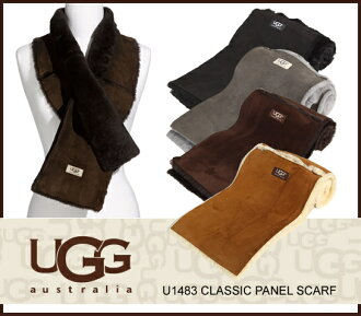 UGG Shearling scarf UGG Australia CLASSIC PANEL SCARF classic Panel scarf Sheepskin scarf u1483