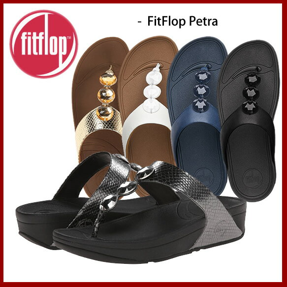 fitflop フィットフロップ PETRA ペトラ エクササイズ シェイプアップサンダル ダイエット レザーサンダル /正規品取扱店舗/ フィットフロップ so1
