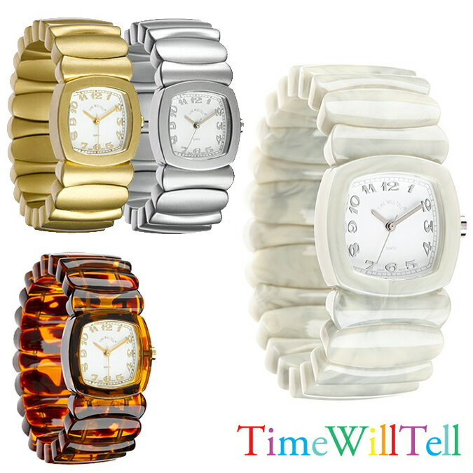 TIME WILL TELL タイムウイルテル GOLD COLLECTION SサイズMサイズTIMEWILLTELL 腕時計  正規品取扱店舗