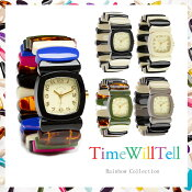 送料無料TIMEWILLTELLタイムウイルテル人気急上昇中ブランドRAINBOWCOLLECTIONSサイズMサイズTIMEWILLTELL腕時計正規品取扱店舗楽ギフ_包装コンビニ受取対応商品