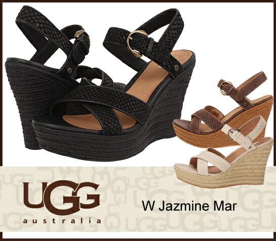 即日ご発送 UGG アグ W Jazmine Mar ジャスミン ウェッジソールサンダル 1007111 /正規品取扱店舗/ so1