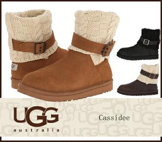 UGG UGG Cassidee 1007690 1011460 卡西迪网靴羊皮靴子真正/s
