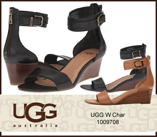 UGG アグ W CHAR ウィメンズ チャー ウェッジサンダル 1009708 1018581/正規品取扱店舗/ so1