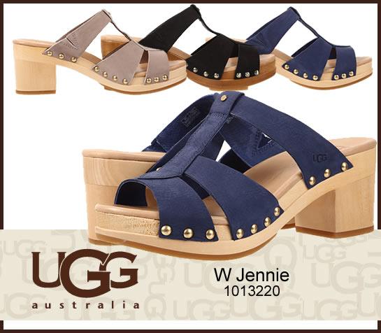 UGG アグ W jennie ジェニー スライドサンダル クロッグサンダル  正規品取扱店舗  so1