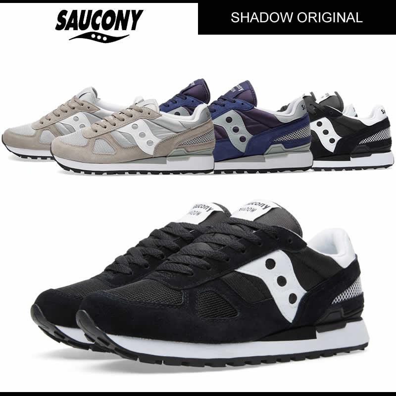 SAUCONY サッカニー SHADOW ORIGINAL シャドウ オリジナル 2108-518 BLACK /正規品取扱店舗/ so1