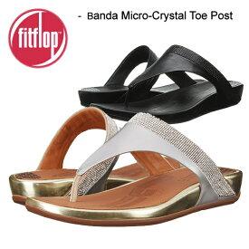 fitflop フィットフロップ BANDA MICRO-CRYSTAL TOE-POST バンダマイクロクリスタル トーポスト サンダル エクササイズ シェイプアップサンダル ダイエット 正規品取扱店舗