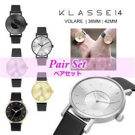 保証あり ペア価格 ペア腕時計 KLASSE14 腕時計 36mm 42mm MARIO NOBILE VOLARE 時計 クラスフォーティーン レディース メンズ ユニセックス ペアウォッチ レザー 革ベルト  正規品取扱店舗