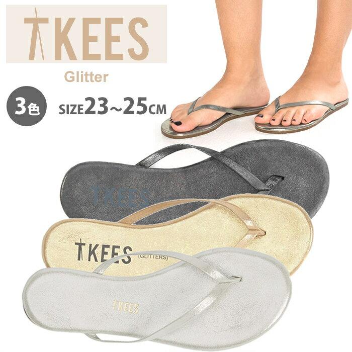 TKEES ティキーズ レディース 女性用 シューズ 靴 サンダル フラットサンダル glitters シルバー ゴールド ティーキーズ 正規品取扱店舗 so1