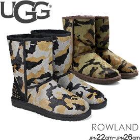 アグ UGG クラシックショートブーツ ムートンブーツ CLASSIC SHORT ROWLAND 迷彩柄 正規品取扱店舗