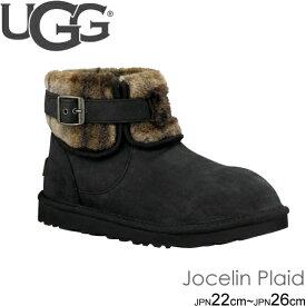 アグ UGG ショートブーツ ムートンブーツ JOCELIN PLAID ジョスリン シープスキン 正規品取扱店舗 so1