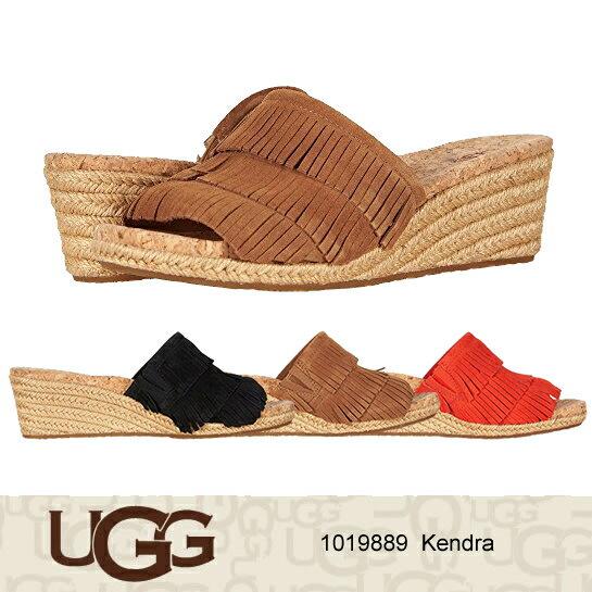 UGG アグ サンダル Kendra ウェッジソール ジュートサンダル 1019889 正規品取扱店舗  so1