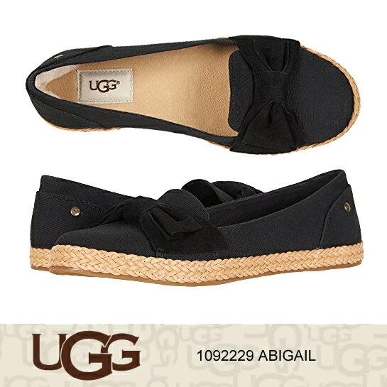 アグ フラットシューズ UGG ABIGAIL アビゲイル 1092229 正規品取扱店舗 スリッポン ムートン シープスキン ジュート s so1