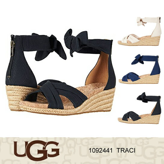 UGG アグ サンダル TRACI ウェッジソール エスパドリーユ 1092441 正規品取扱店舗 so1