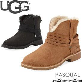 アグ UGG ストラップショートブーツ ムートンブーツ PASQUAL シープスキン アンクルブーツ 正規品取扱店舗