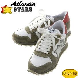 アトランティックスターズ メンズ スニーカー ATLANTIC STARS シリウス SIRIUS ホワイト カーキ Vibram ビブラムソール 正規品取扱店舗