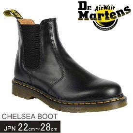 ドクターマーチン Dr Martens CHELSEA BOOT メンズ レディース サイドゴアブーツ イエロースティッチ 2976 22227001 正規品取扱店舗