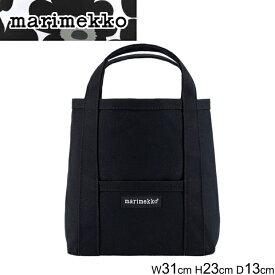 マリメッコ トートバッグ MARIMEKKO RAIDE MINI PERUSKASSI 2 044400 ライデ ミニ ペルスカッシィ レディース BLACK ブラック 黒 斜め掛け シンプル 正規品取扱店舗