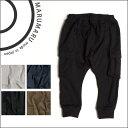 子供服ブランド MARUMARU 日本製 現役ママが考案 キッズサルエルパンツ七分丈 柔らかスウェット素材のサルエルタイプのシンプルカーゴパンツ スエパン スウェットパンツ オーバーサイズを選んでダン