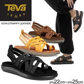 テバ ボヤ サンダル TEVA レディース VOYA STRAPPY LEATHER ボヤ ストラッピー レザー 1106868 正規品取扱店舗