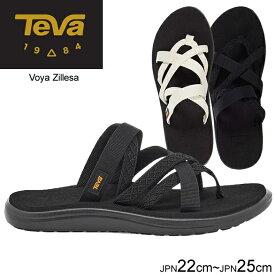 テバ Teva レディース サンダル ボヤ ジレッサ VOYA ZILLESA ブラック ホワイト 1117032 正規品取扱店舗