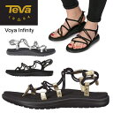 テバ Teva ボヤ インフィニティー VOYA INFINITY WOMENS ブラック ゴールド シルバー 1019622 1097852 サンダル スポ…