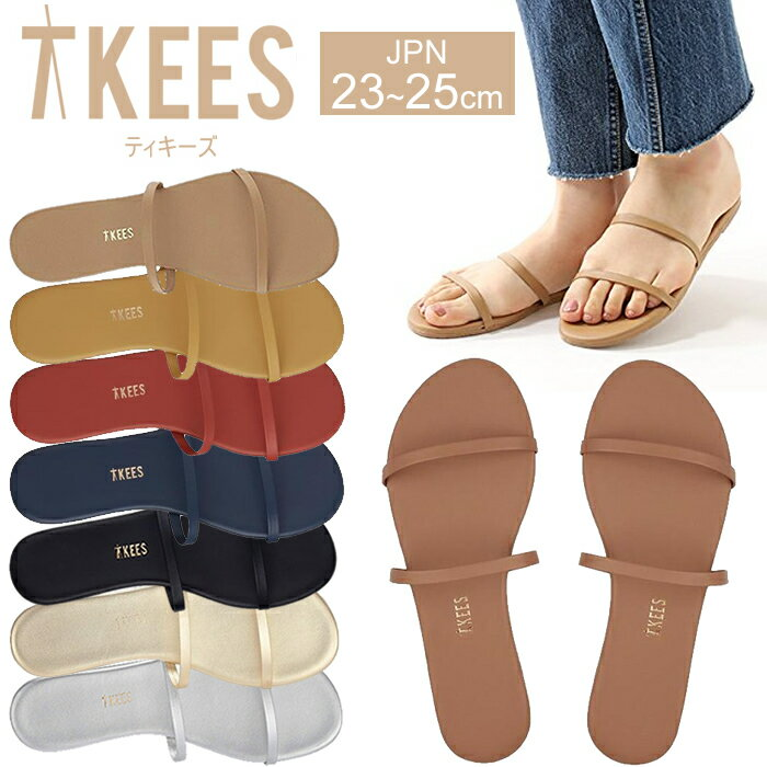 TKEES ティキーズ レディース 女性用 シューズ 靴 サンダル フラットサンダル GEMMA ティーキーズ 正規品取扱店舗 so1