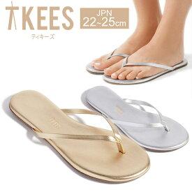 TKEES ティキーズ レディース シューズ 靴 サンダル フラットサンダル METALLICS SHADOWS メタリック 女性用 正規品取扱店舗