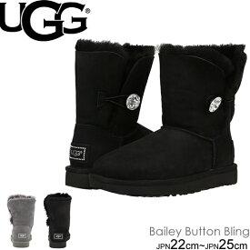 UGG Bailey Button Bling アグ ベイリーボタン ブリング ショートブーツ 3349 1016553 ムートン