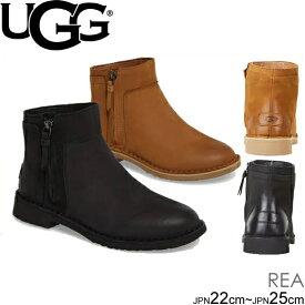 UGG アグ レア アンクルブーツ ブーティ Women's REA 1017503 CLASSIC DRESDEN クラシック ドレスデン 2カラー レディース シープスキン 正規品取扱店舗