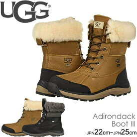アグ UGG スノーブーツ ADIRONDACK BOOT III アディロンダック ブーツ レディース 防水 シューズ 靴 正規品取扱店舗