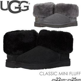 アグ ugg ブーツ 新作 クラシック ミニ フラッフ シープスキン CLASSIC MINI FLUFF 1106757 ムートン 正規品取扱店舗