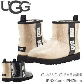 アグ ブーツ ugg 新作 クラシッククリアミニ 防水シープスキン CLASSIC CLEAR MINI 1113190 シューズ ムートン 正規品取扱店舗