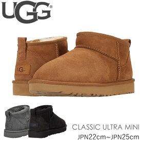 アグ ブーツ ugg 新作 クラシックウルトラミニ シープスキン CLASSIC ULTRA MINI 1116109 シューズ ムートン ショートブーツ 正規品取扱店舗