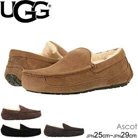 UGG MENS Ascot アグ メンズアスコット シープスキン カジュアルシューズ スリッポン 5379-5775  正規品取扱店舗  so1