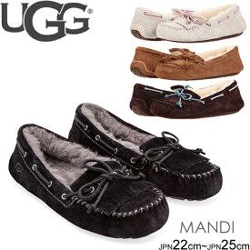 UGG Mandie マンディ 1003799  正規品取扱店舗 ムートン シープスキン モカシン