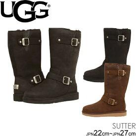 UGG W SUTTER サッター ムートンブーツ エンジニア ブーツ 1005374 正規品取扱店舗 シープスキン