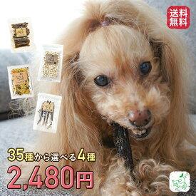 【送料無料】選べる4種 犬用 無添加 おやつ リリーセット li'li'i 小型犬向け 犬 チップ スティック ジャーキー 馬 牛 鶏 豚 ヤギミルク