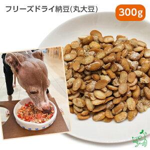 【無添加 国産】北海道産 フリーズドライ納豆(丸大豆) 300g | イリオスマイル ドッグフード ドックフード 犬用おやつ 犬 おやつ 無添加おやつ 手作りごはん