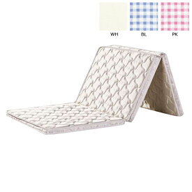 マットレス 3つ折り シングル 三つ折り シングルマットレス 寝具 折りたたみ コンパクト 寝室 寝心地 (三つ折れパームマットレス)