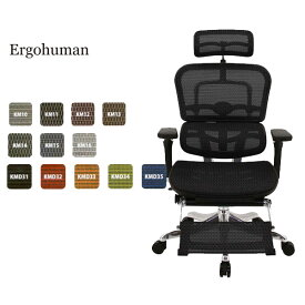Ergohuman PRO OTTOMAN エルゴヒューマン プロ オットマン 【EHP-LPL【オットマン内蔵モデル】】 チェアー 椅子 ワーキングチェア【送料無料】