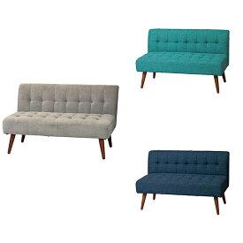 2人掛けソファ【KTL(ケティル)】KTL-SF2(GR)(EBL)(NV) 2Pソファ 高さ調節可能 木製 椅子 玄関 北欧