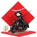 五月人形 コンパクト おしゃれ 兜 伊達政宗 人形工房 壱三作 子供大将飾り 武者人形 平飾り もののふ童 かわいい 5月…