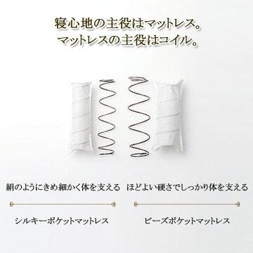 日本ベッド/シルキー/ピロートップシルキー