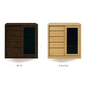 リビングボード ミドルボード 木製 【ダース 80サイドボード】 モダン/おしゃれ/収納家具