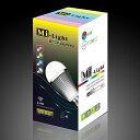 調光・調色 LED電球フルカラー&電球色 100V7.5W 口金E26 Milight